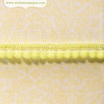 Websters Pages - Modern Romance Collection - Designer Ribbon - Soft Green Poms - 25 Yards