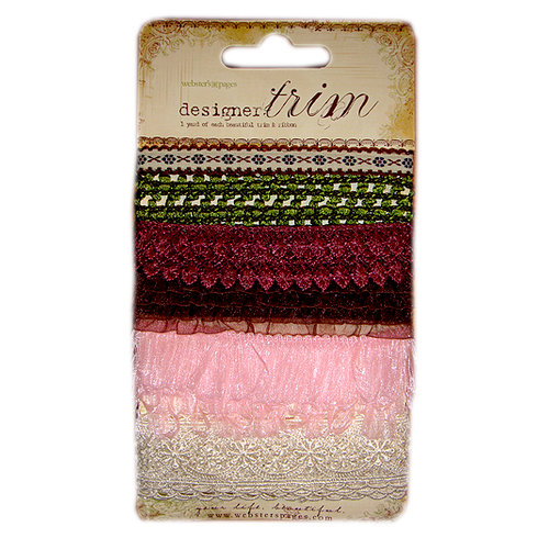 Websters Pages - Nature Collection - Designer Trim and Ribbon