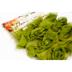 Websters Pages - Bloomers - Flower and Trim Ribbons - Green, CLEARANCE