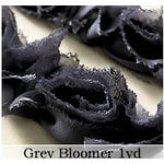 Websters Pages - Bloomers - Flower and Trim Ribbons - Grey