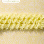 Websters Pages - Ruffled Bloomers - Flower and Trim Ribbons - Lime - 25 Yards