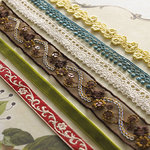 Websters Pages - WonderFall Collection - Designer Trim and Ribbon