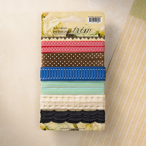 Websters Pages - Yacht Club Collection - Designer Trim and Ribbon