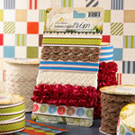 Websters Pages - Game On Collection - Designer Trim and Ribbon