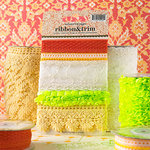 Websters Pages - Park Drive Collection - Designer Trim and Ribbon