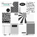 Websters Pages - Sweet Notes Collection - 12 x 12 Transparency - Cards