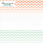 Websters Pages - Hello World Collection - 12 x 12 Transparency - Chevron - Multi