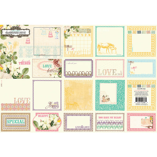 Websters Pages - Western Romance Collection - Deluxe Journaling Cards