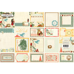 Websters Pages - A Botanical Christmas Collection - Deluxe Journaling Cards