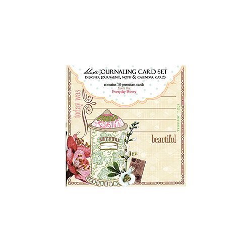 Websters Pages - Everyday Poetry Collection - Deluxe Journaling Cards