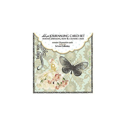 Websters Pages - In Love Collection - Deluxe Journaling Cards