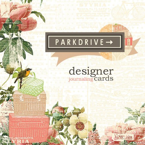 Websters Pages - Park Drive Collection - Deluxe Journaling Cards