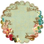 Websters Pages - Garden Gala Collection - 12 x 12 Die Cut Paper - Garden Gala