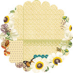Websters Pages - WonderFall Collection - 12 x 12 Die Cut Paper - WonderFall