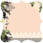 Websters Pages - Hollywood Vogue Collection - 12 x 12 Die Cut Paper - Hollywood