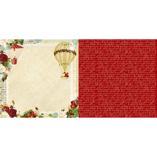 Websters Pages - Waiting for Santa Collection - Christmas - 12 x 12 Double Sided Paper - The Delivery