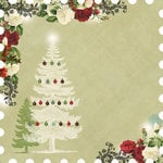 Websters Pages - Waiting for Santa Collection - Christmas - 12 x 12 Die Cut Paper - Santa
