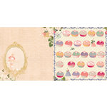 Websters Pages - Sweet Season Collection - Christmas - 12 x 12 Double Sided Paper - Frosting