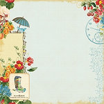 Websters Pages - Spring Market Collection - 12 x 12 Designer Vellum - Spring Market