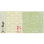Websters Pages - Trendsetter Collection - 12 x 12 Double Sided Paper - Fashionista