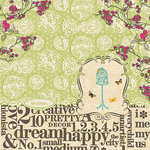 Websters Pages - Trendsetter Collection - 12 x 12 Designer Vellum - Trendsetter