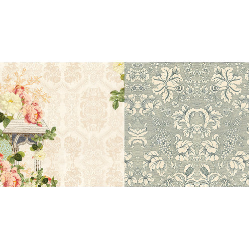Websters Pages - Country Estate Collection - 12 x 12 Double Sided Paper - Breezeway