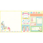 Websters Pages - Let's Celebrate Collection - 12 x 12 Double Sided Paper - You're Invited