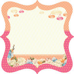 Websters Pages - Let's Celebrate Collection - 12 x 12 Die Cut Paper - Let's Celebrate