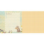 Websters Pages - Western Romance Collection - 12 x 12 Double Sided Paper - Gratitude
