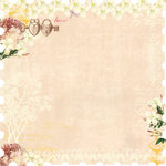 Websters Pages - Western Romance Collection - 12 x 12 Die Cut Paper - Western Romance