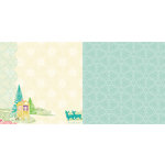Websters Pages - Winter Fairy Tales Collection - 12 x 12 Double Sided Paper - Wonder of Winter