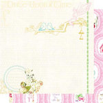 Websters Pages - Winter Fairy Tales Collection - 12 x 12 Double Sided Paper - Once Upon a Time
