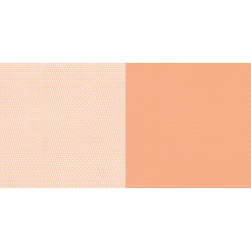 Websters Pages - The Palm Beach Collection - 12 x 12 Double Sided Paper - Sherbert