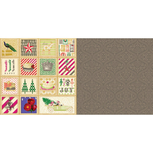 Websters Pages - Royal Christmas Collection - 12 x 12 Double Sided Paper - Greeting Cards