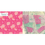 Websters Pages - Composition and Color Collection - 12 x 12 Double Sided Paper - Aerial View
