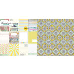 Websters Pages - Composition and Color Collection - 12 x 12 Double Sided Paper - Kaleidoscope