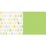 Websters Pages - New Beginnings Collection - 12 x 12 Double Sided Paper - Eggstra Special