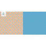 Websters Pages - Adrienne Looman - Citrus Squeeze Collection - 12 x 12 Double Sided Paper - Orange Crush