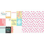 Websters Pages - Hello World Collection - 12 x 12 Double Sided Paper - You are Loved