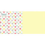 Websters Pages - Hello World Collection - 12 x 12 Double Sided Paper - Reach for the Sky
