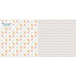 Websters Pages - Hello World Collection - 12 x 12 Double Sided Paper - Little Ones