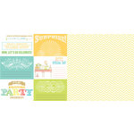 Websters Pages - Party Time - 12 x 12 Double Sided Paper - A Surprise