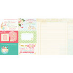 Websters Pages - Growing Up Girl Collection - 12 x 12 Double Sided Paper - Accept the Challenge