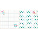 Websters Pages - Sweet Routine Collection - 12 x 12 Double Sided Paper - Playing and Posing