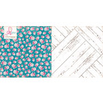Websters Pages - Sweet Routine Collection - 12 x 12 Double Sided Paper - Front Porch