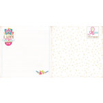 Websters Pages - Sweet Routine Collection - 12 x 12 Double Sided Paper - Your Smile