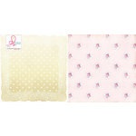 Websters Pages - Sweet Routine Collection - 12 x 12 Double Sided Paper - Morning