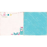 Websters Pages - Sweet Routine Collection - 12 x 12 Double Sided Paper - Laundry Day