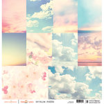 Websters Pages - Our Travels Collection - 12 x 12 Vellum - Sky