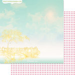 Websters Pages - Strawberry Fields Collection - 12 x 12 Double Sided Paper - Dream On
